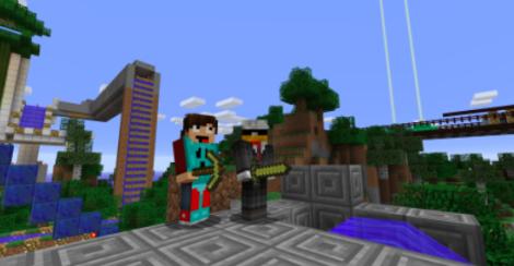 Adventuring in Minecraft