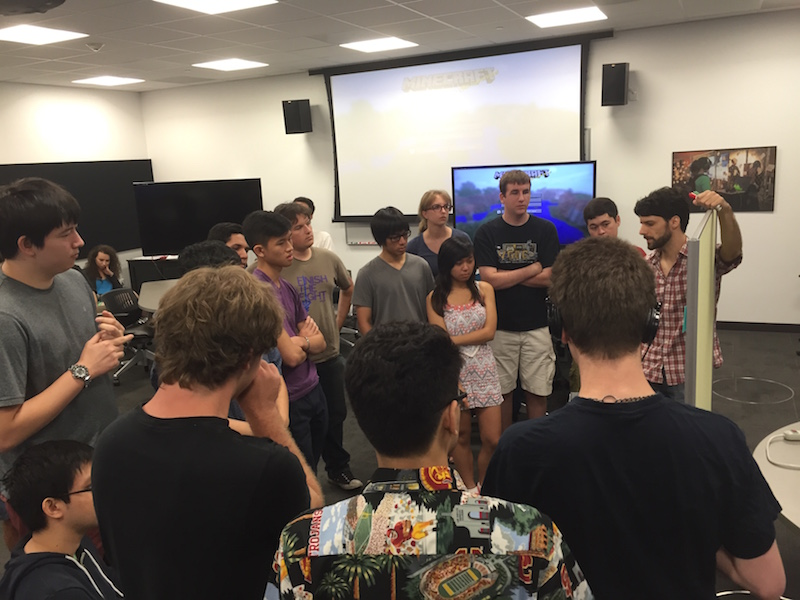 Summer of Minecraft Lead Camp Counselors