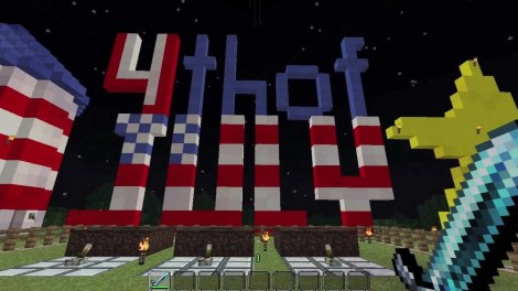 4th of July in Minecraft
