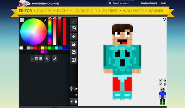 Miners Need Cool Shoes Editor