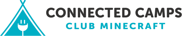 Connected Camps Club Minecraft Logo