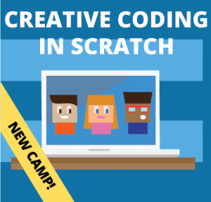 Week 1: Creative Coding in Scratch Camp (Ages: 9-13)