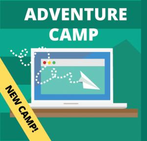 Week 1: Adventure Camp (Ages: 9-13)
