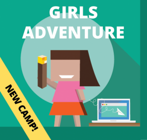 Week 2: Girls Adventure Camp (Ages: 8-13)